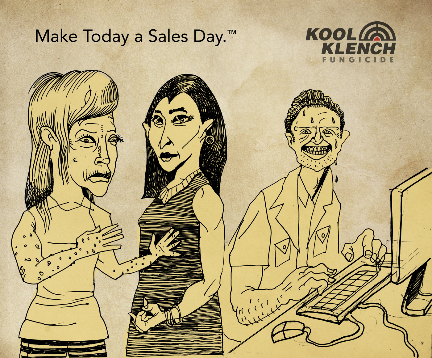 Your team can produce results even though it's Friday. – Kool Klench.