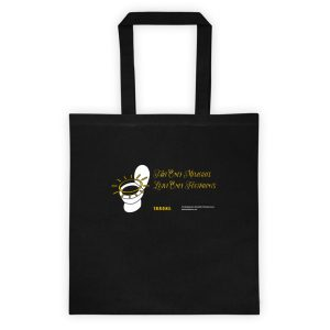 """THRONE """"Take Only Memories…"""" Tote bag"""