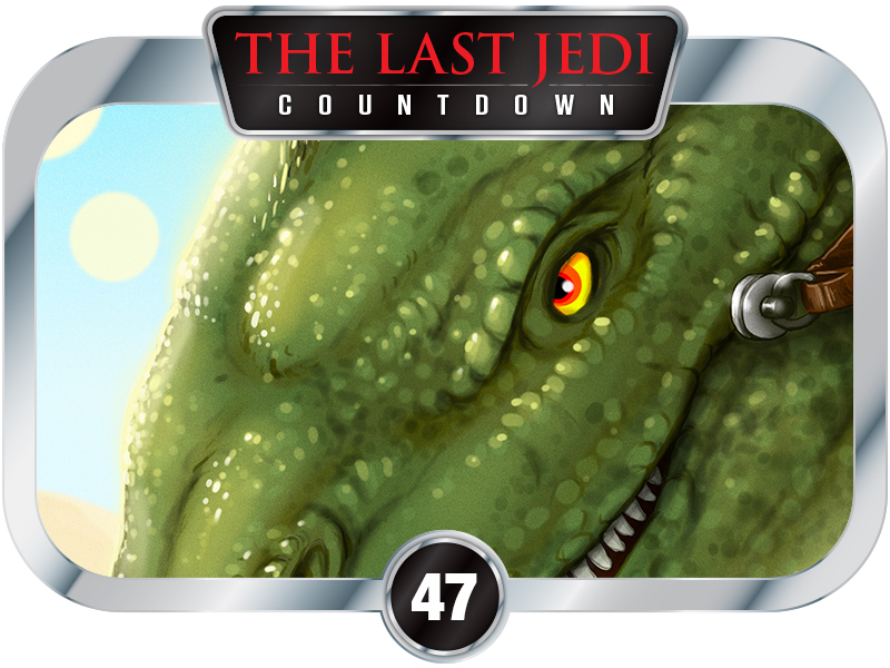 47 Days to SW EP8 – Creatures of A New Hope – The Dewback