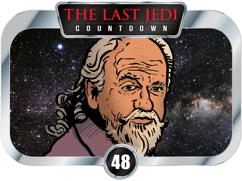"48 DAYS to SW EP8 – Oliver Ford Davies ""Fundamentally disagrees with every choice"" for Sio Bibble in The Last Jedi."