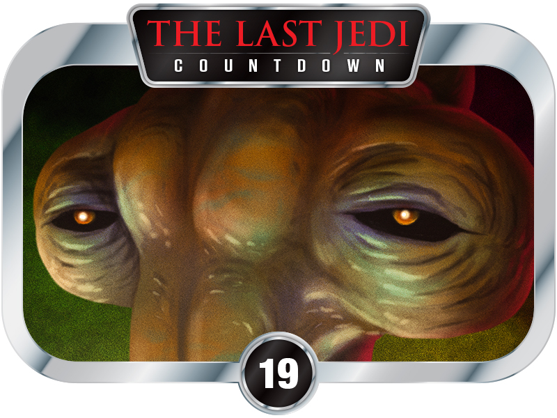 19 Days to SW EP8 – Creatures of A New Hope – Momaw Nadon
