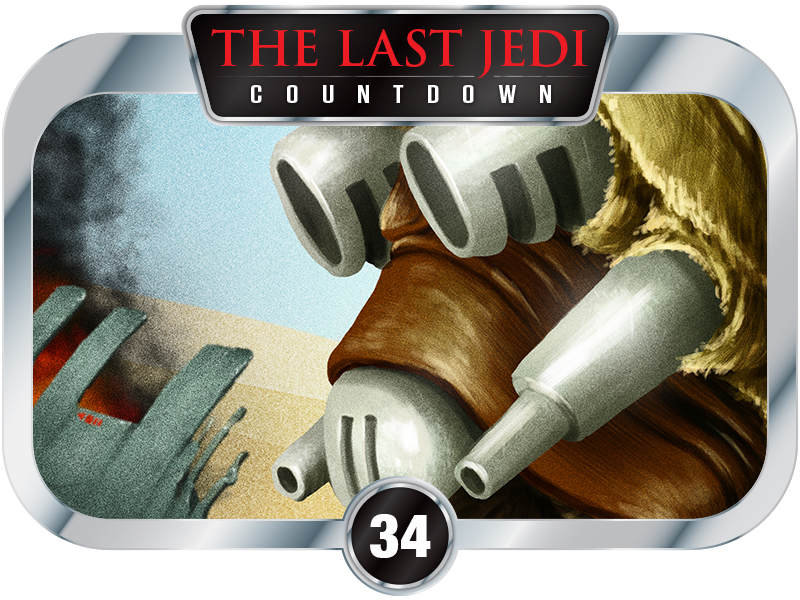 34 Days to SW EP8 – Creatures of A New Hope – Tusken Raiders