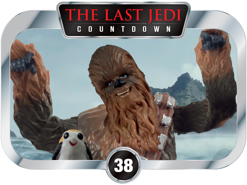38 Days to SW EP8 – Chewie & Porg fantasy scene