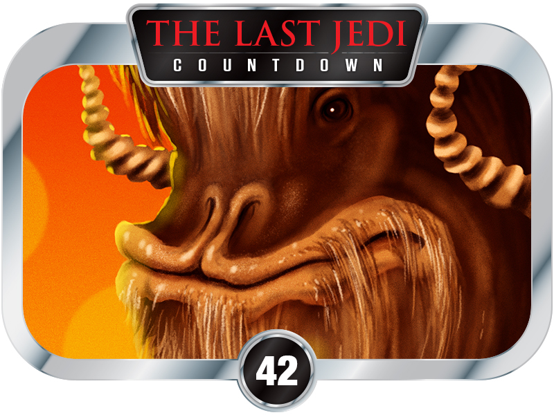 42 Days to SW EP8 – Creatures of A New Hope – The Bantha