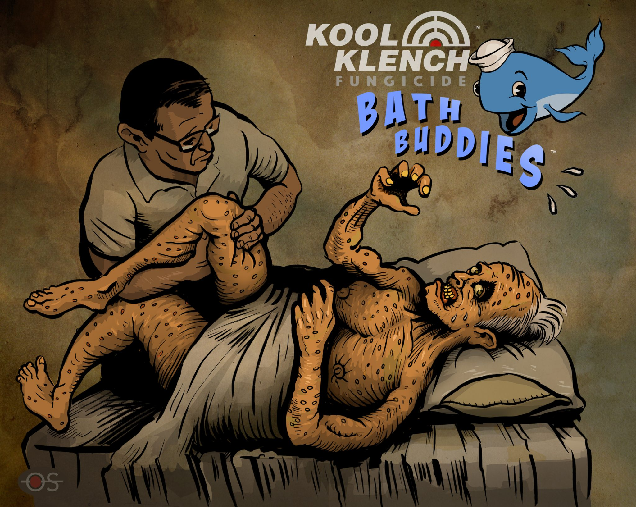 This senior woke up with a fungal infection covering over 100% of his body. What happened next will make your G.D. jaw drop. Kool Klench™ Bath Buddies™