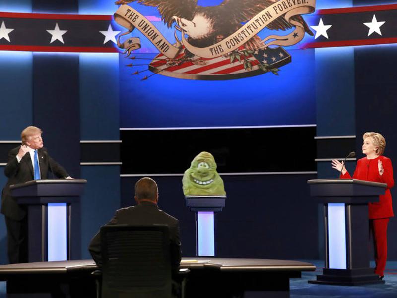 Quadrennial U.S Presidential candidate Blob ignored. Again.