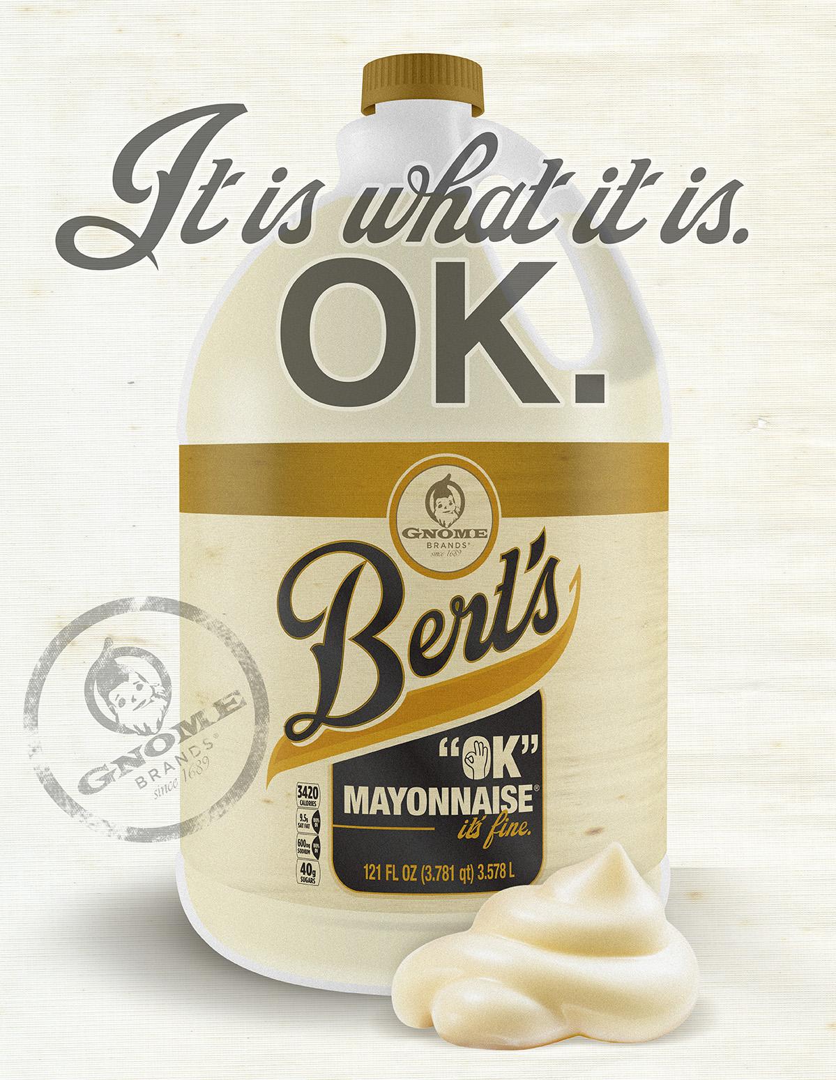 Bert's OK Mayonnaise