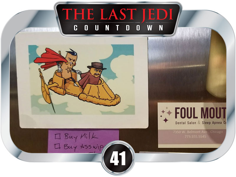 41 Days to SW EP8 - Win A Savory Snack Squad Skiff Magnet!