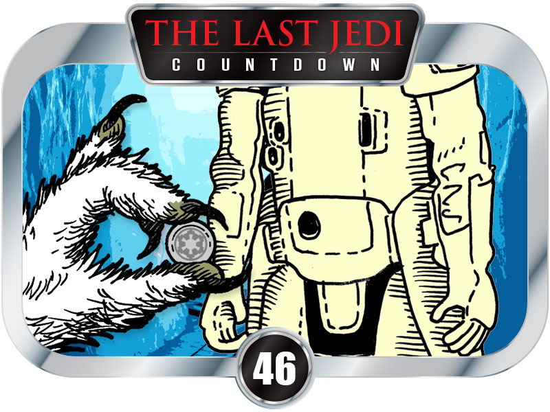 46 Days to SW Ep8 – Snowtrooper Soda Machine