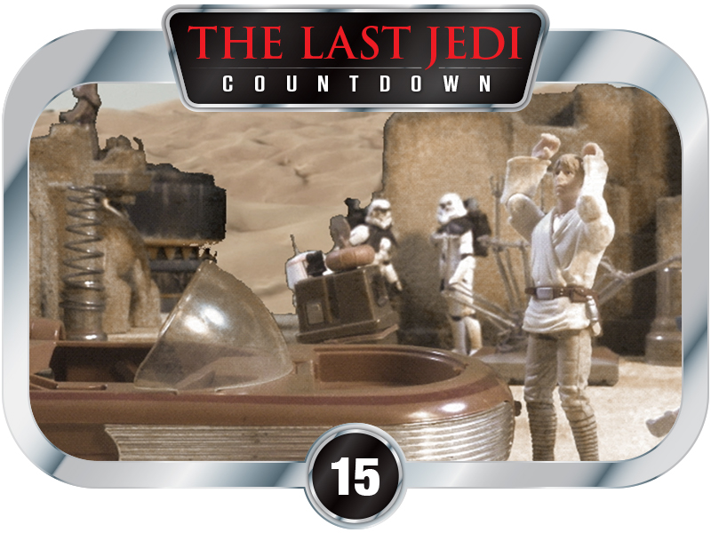 15 Days to SW EP8 - Utini Speeder Wreckers - Paid Advertisement