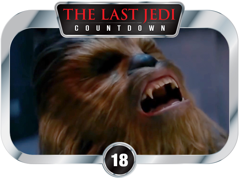 18 Days to SW EP8 – Chewbacca's Life Debt