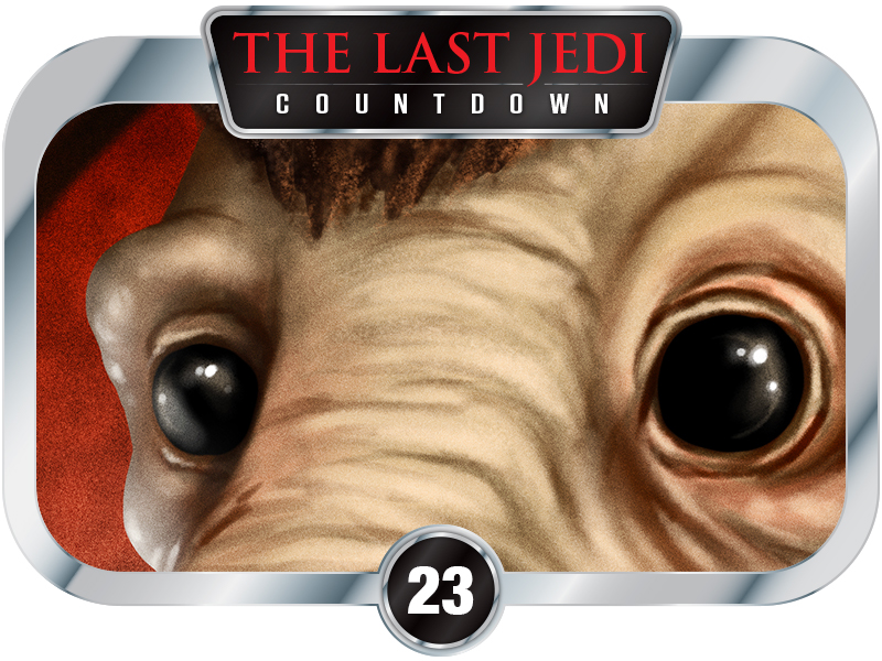 23 Days to SW EP8 – Creatures of A New Hope – Takeel