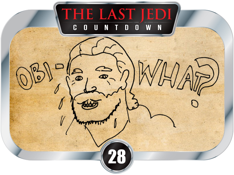 28 Days to SW EP8 - Obi What? Comics