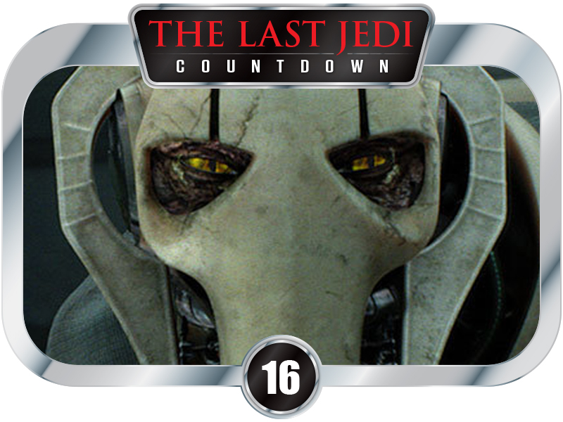 16 Days to SW EP 8 – Exclusive! The True Face of General Grievous! And You Won't Believe Your Eyes!