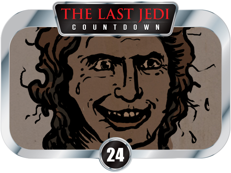 "24 Days to  SW EP8 – VADER Rhymes With ""Love Her."" Comics"