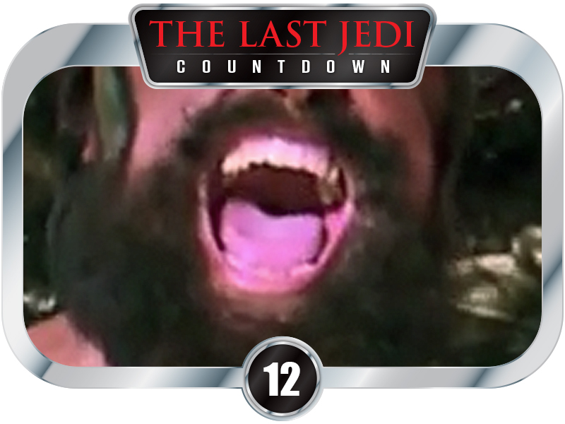 12 Days to SW EP 8 - Brian Blessed is the  BEST ed
