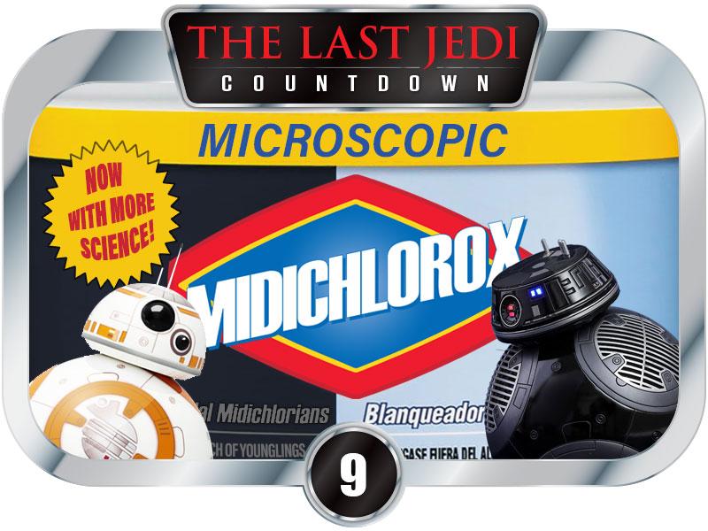 9 Days to SW EP8 – New Sponsor – Midichlorox