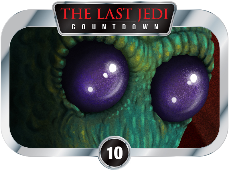 10 Days to SW EP8 – Creatures of A New Hope – Greedo