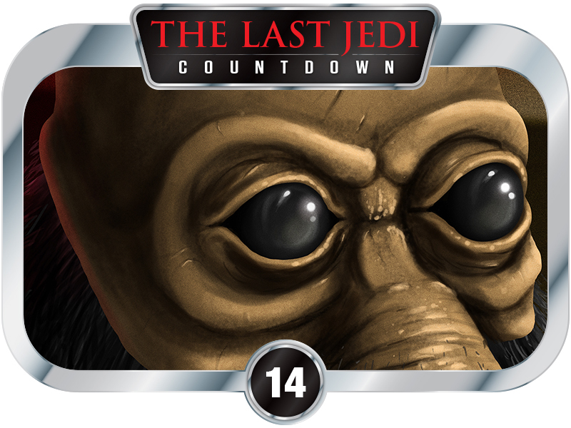 14 Days to SW EP8 - Creatures of A New Hope - Ponda Baba